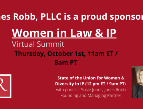 Women in Law & IP Virtual Summit – October 1, 2020